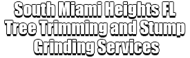 South Miami Heights FL Tree Trimming and Stump Grinding Services Logo-We Offer Tree Trimming Services, Tree Removal, Tree Pruning, Tree Cutting, Residential and Commercial Tree Trimming Services, Storm Damage, Emergency Tree Removal, Land Clearing, Tree Companies, Tree Care Service, Stump Grinding, and we're the Best Tree Trimming Company Near You Guaranteed!